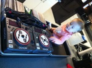 Maddie-DJ-CD-player-February-2013